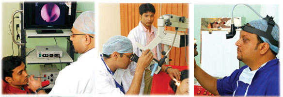 ENT Facilities available at Medica Superspecialty Hospital