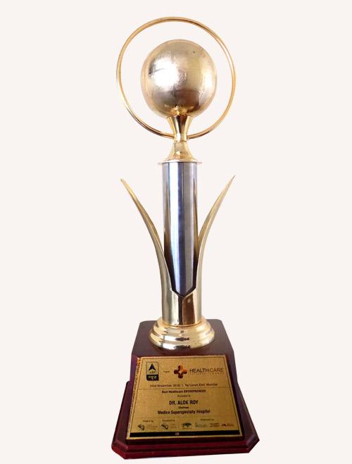 Healthcare leadership awards, Best Healthcare Entrepreneur 2016