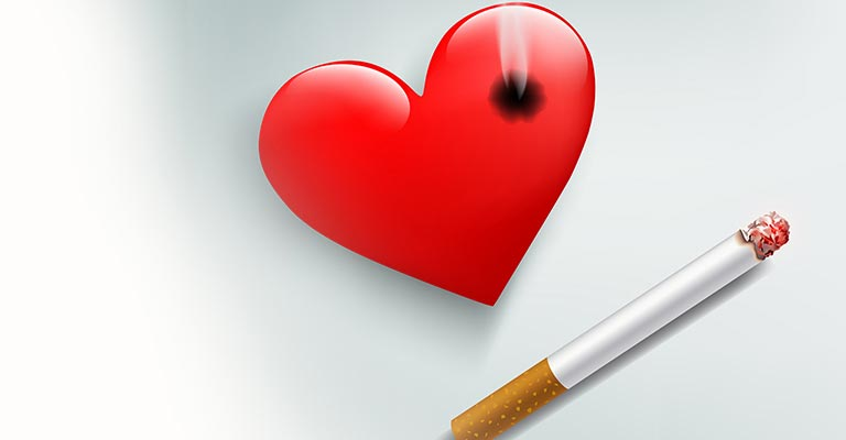 smoking relate heart attack