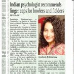 Anusheela Brahmachary, Sports Psychologist & Counsellor, Medica Superspecialty Hospital