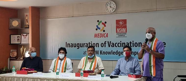 Medica Vaccination programme at NSHM