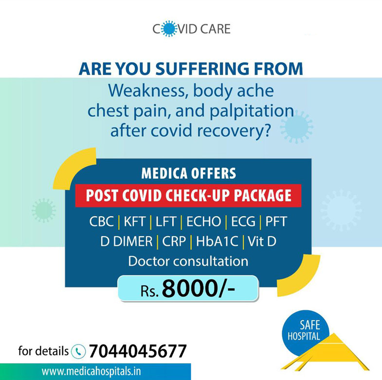 Post Covid Check-up package