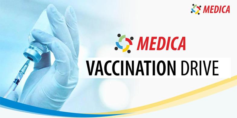 Medica Vaccination Drive
